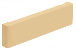 Фасадная керамическая плитка цвета Слоновая кость