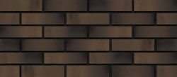 Кирпич лицевой коричневый 'Венге' с гладкой поверхностью для баварской кладки